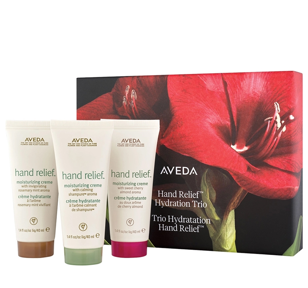 Aveda hand relief hydration trio gift set