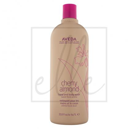 Aveda cherry almond hand and body wash - 1000ml