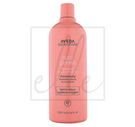 Aveda nutriplenish hydrating shampoo light moisture - 1000ml