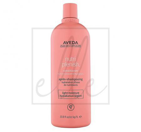 Aveda nutriplenish hydrating conditioner light moisture - 1000ml
