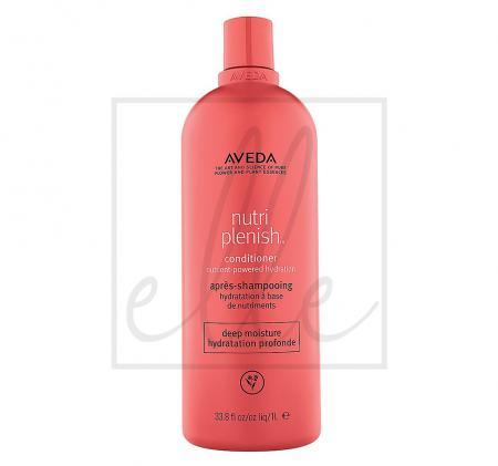 Aveda nutriplenish hydrating conditioner deep moisture - 1000ml
