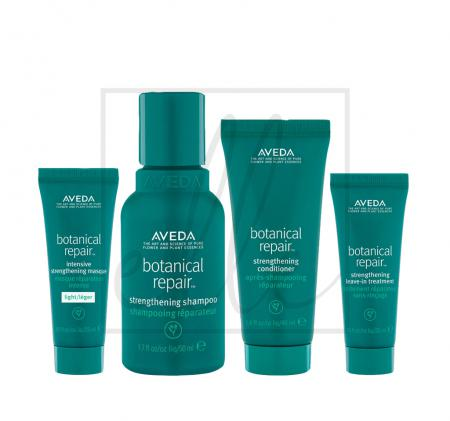 Aveda botanical repair set (shampoo - 50ml + conditioner - 40ml + intensive masque light - 25ml + leave in-in treatment - 25ml)