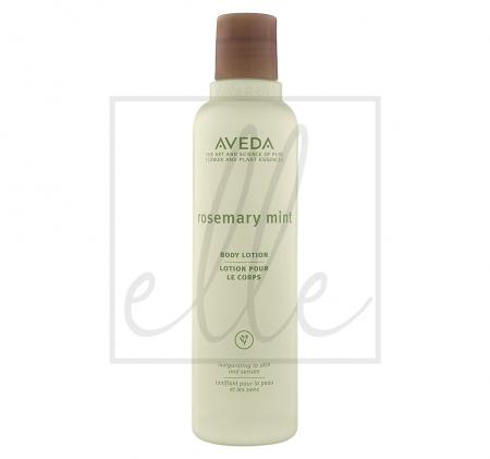 Aveda rosemary mint body lotion