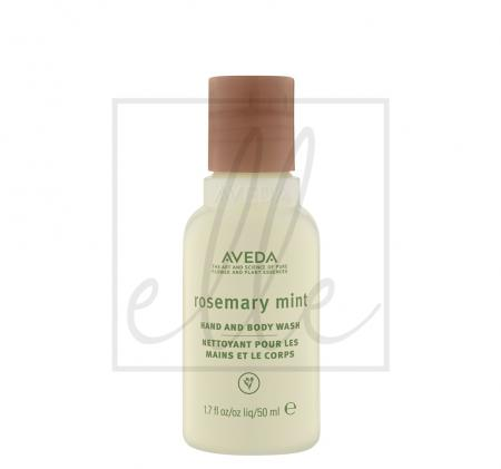 Aveda rosemary mint hand and body wash - 50ml (travel size)