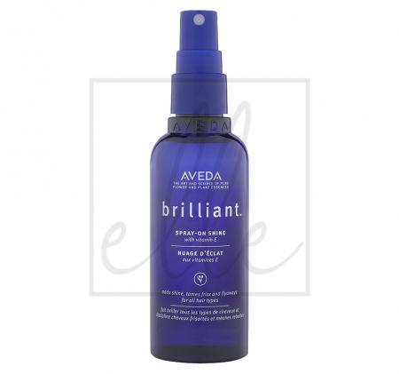 Aveda brilliant spray on shine - 100ml