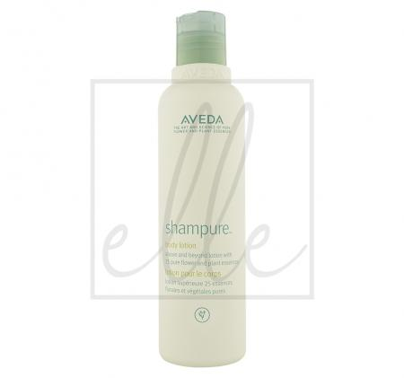 Aveda shampure body lotion