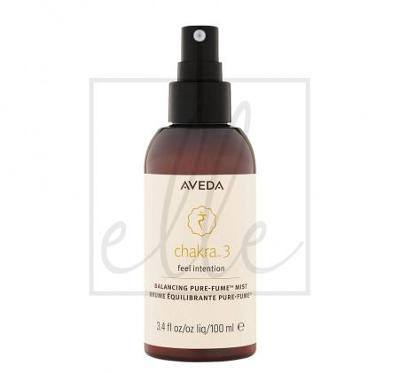 Aveda chakra 3 feel intention balancing pure-fume mist - 100ml