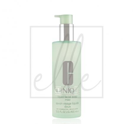 Clinique jumbo liquid facial soap (dry to dry/combination skin) - 400ml