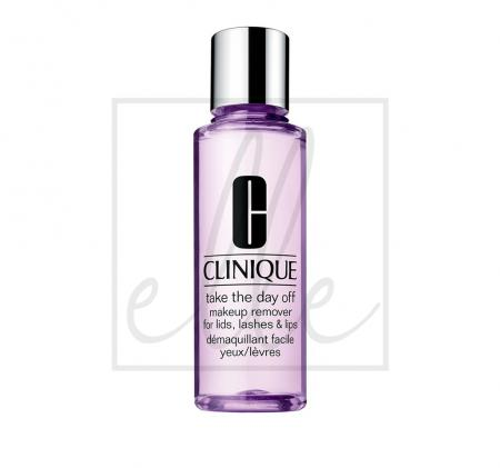 Clinique take the day off makeup remover for lids, lashes & lips - 200ml