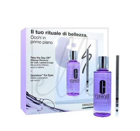 Clinique take the day off makeup remover kit