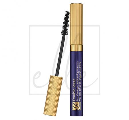 Double wear zero-smudge lengthening mascara - 01 black (6ml)