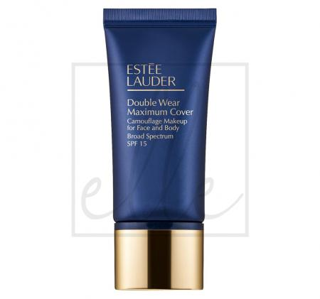 Double wear maximum cover camouflage makeup for face and body spf 15 - 30ml 99999
