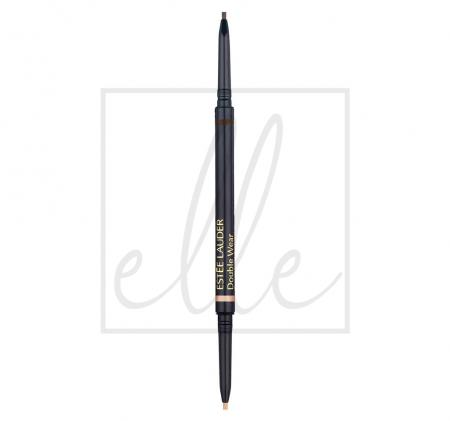 Double wear stay-in-place brow lift duo - 02 rich brown 99999