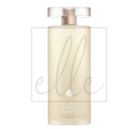 Pure white linen eau de parfum spray