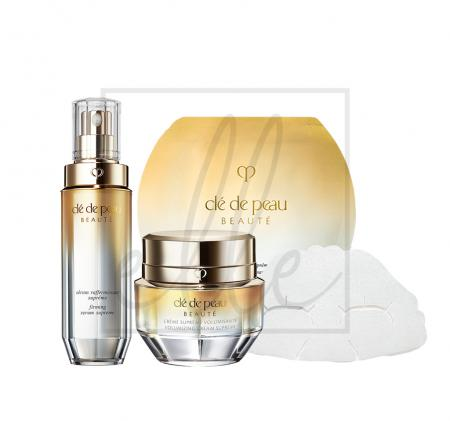 Clé de peau beauté supreme firming collection set
