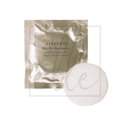 Shiseido bio performance super exfoliating discs - 6g x 8 discs