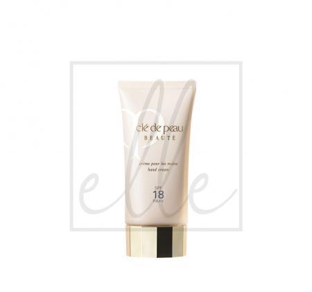 ClÉ de peau beautÉ hand cream spf18 pa++ - 75ml