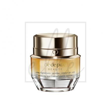 Clé de peau beauté enhanching eye contour cream supreme - 15ml