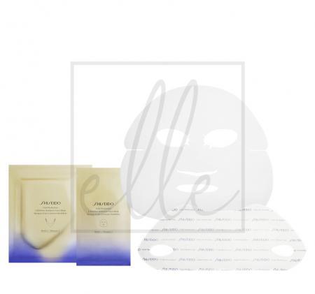 Shiseido vital perfection liftdefine radiance face mask - 6 sets