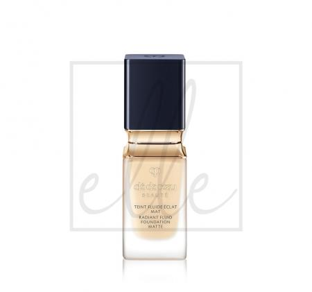 Cle de peau radiant fluid foundation matte