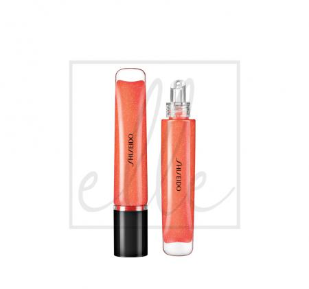 Shiseido shimmer gel gloss - 06 daidai orange