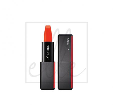 Shiseido modernmatte powder lipstick - 528 torch song