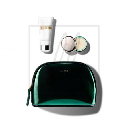 La mer the multitudes of moisture the hand treatment and lip balm set