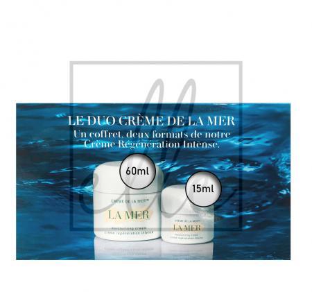 La mer the creme de la mer duet set (the moisturizing cream - 60ml + 15ml)