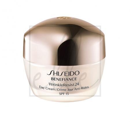 Shiseido benefiance wrinkleresist24 day cream spf 15 - 50ml