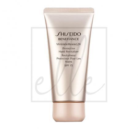 Shiseido benefiance wrinkleresist24 protective hand revitalizer spf 15 - 75ml
