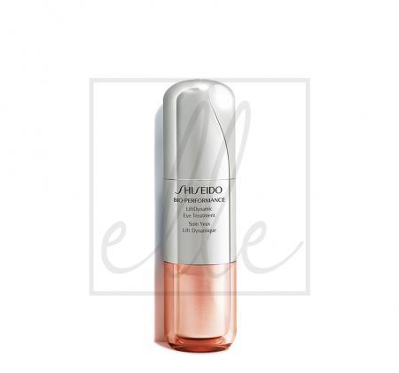 Shiseido bio performance liftdynamic eye treatment - 15ml