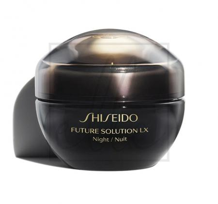 Shiseido future solution lx total regenerating night cream - 50ml