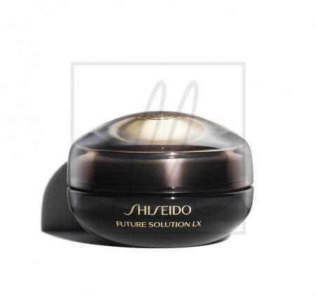 Shiseido future solution lx eye & lip contour regenerating cream - 17ml