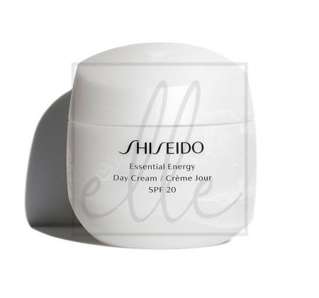 Shiseido essential energy day cream spf 20 - 50ml