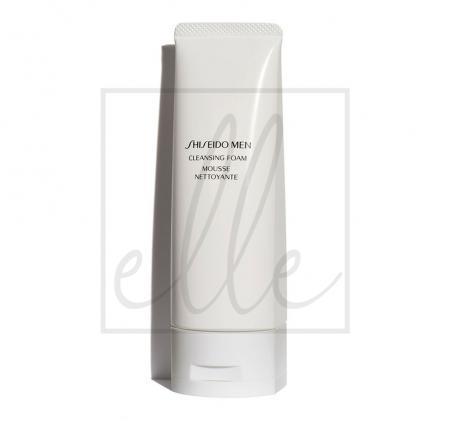 Shiseido men cleansing foam - 125ml