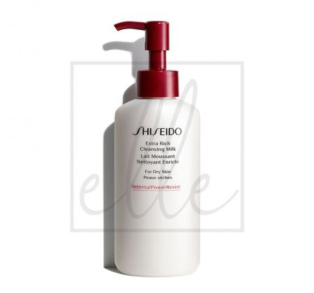 Shiseido extra rich cleansing milk - 125ml