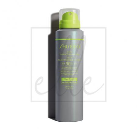 Shiseido sports invisible protective mist spf50+ - 150ml
