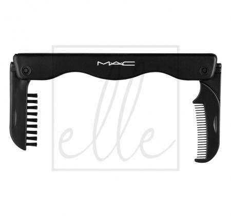 Duo lash comb / brow brush
