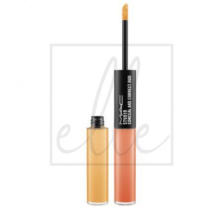 Studio conceal and correct duo - pure orange / ochre