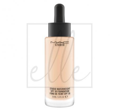 Studio waterweight spf 30 foundation - 30ml
