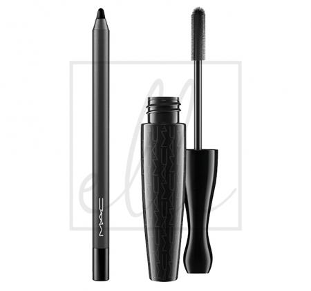 Mascara - kit in extreme dimension (3d black)