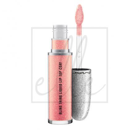 Bling thing liquid lip top coat - sweet gleams