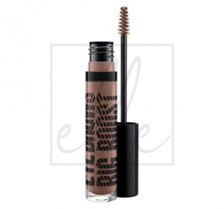 Mac eye brows big boost fibre gel - tapered