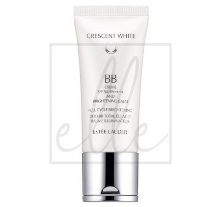 Crescent white full cycle brightening bb creme & brightening balm spf 50/pa++++ - 30ml