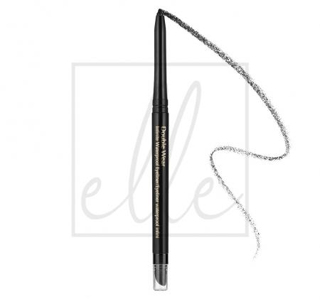 Double wear infinite waterproof eyeliner - 01 kohl noir 99999