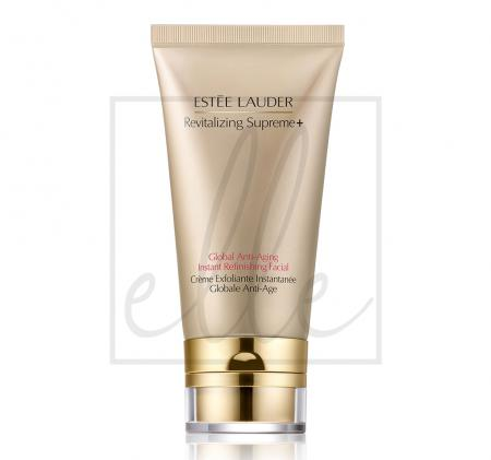 Revitalizing supreme + global anti aging instant refinishing facial - 75ml