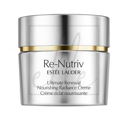 Re-nutriv ultimate renewal nourishing radiance creme - 50ml