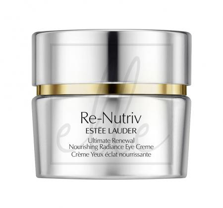 Re-nutriv ultimate renewal nourishing radiance eye creme - 15ml