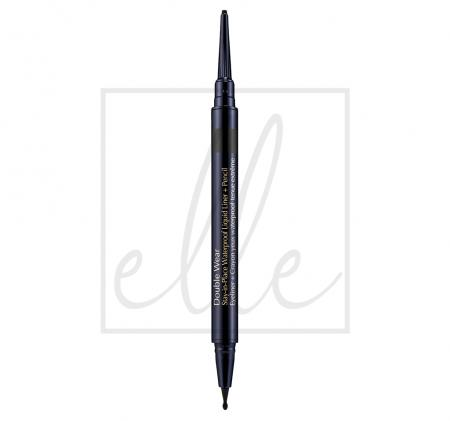 Double wear stay in place waterproof liquid liner - 01 onxy (0.53g)