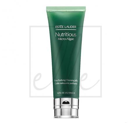 Estee lauder nutritious micro-algae pore purifying cleansing gel - 125ml